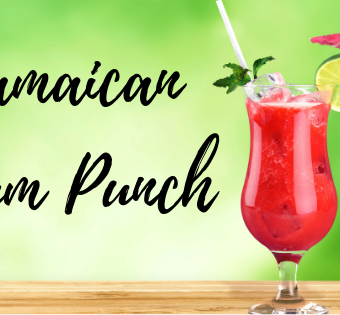 Real Authentic Jamaican Rum Punch