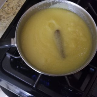 CORNMEAL PORRIDGE IN POT